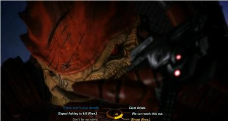 even Wrex dying won't matter since he'll just get replaced by his brother Wreav