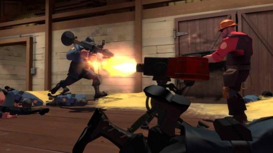 Violence Team Fortress 2
