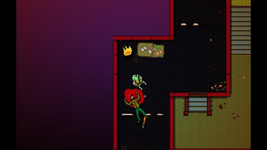 hotline miami sick