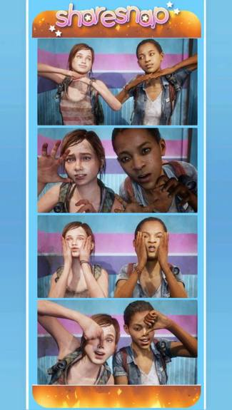 tlou left behind photobooth
