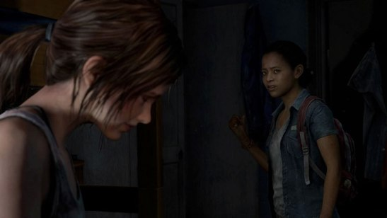 tlou left behind stare